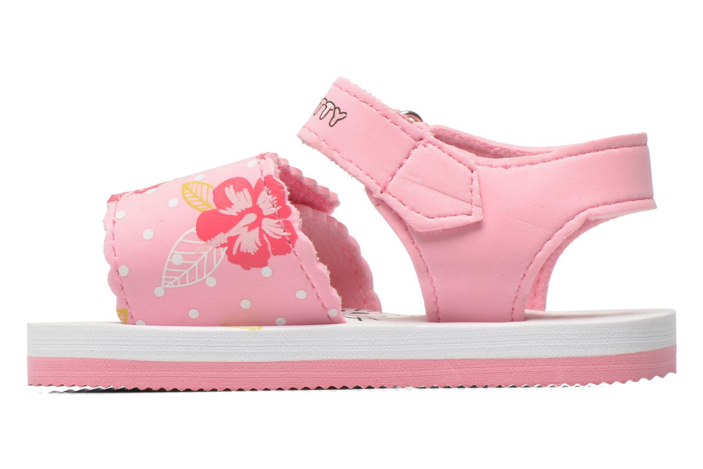 Sandalias Hello Kitty Hk Legon Rosa vista de frente