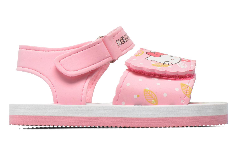 Sandalias Hello Kitty Hk Legon Rosa vistra trasera