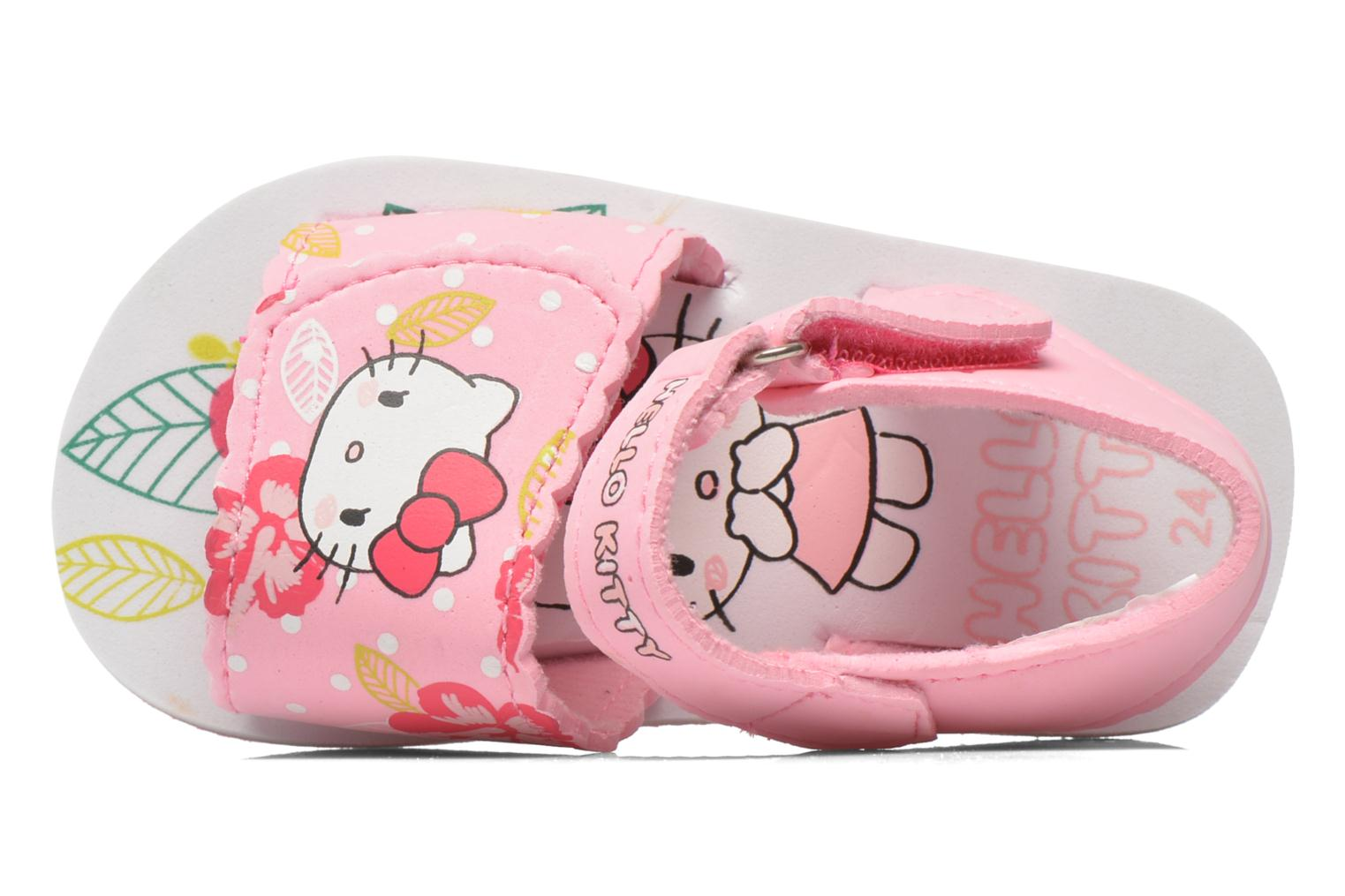 Sandalias Hello Kitty Hk Legon Rosa vista lateral izquierda