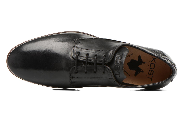Chaussures à lacets Kost Grahamy Noir vue gauche