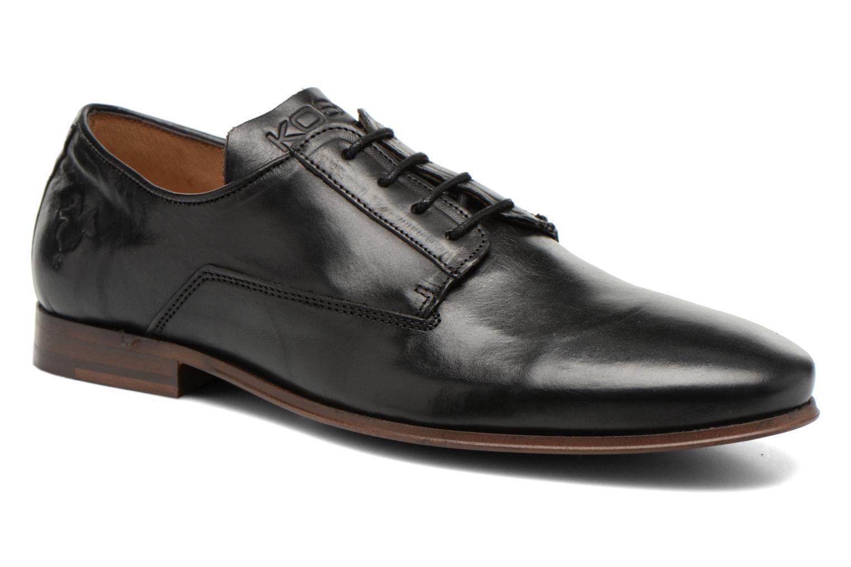 Chaussures à lacets Kost Grahamy Noir vue détail/paire