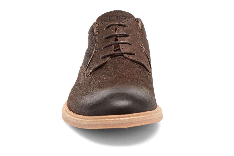 Chaussures à lacets Kost Mayall Marron vue portées chaussures