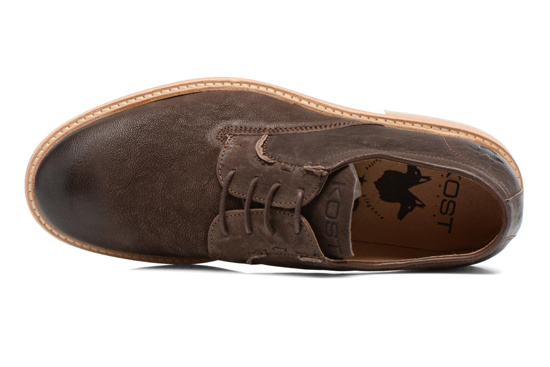 Chaussures à lacets Kost Mayall Marron vue gauche