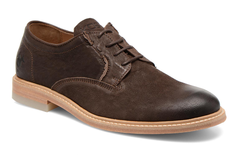 Chaussures à lacets Kost Mayall Marron vue détail/paire