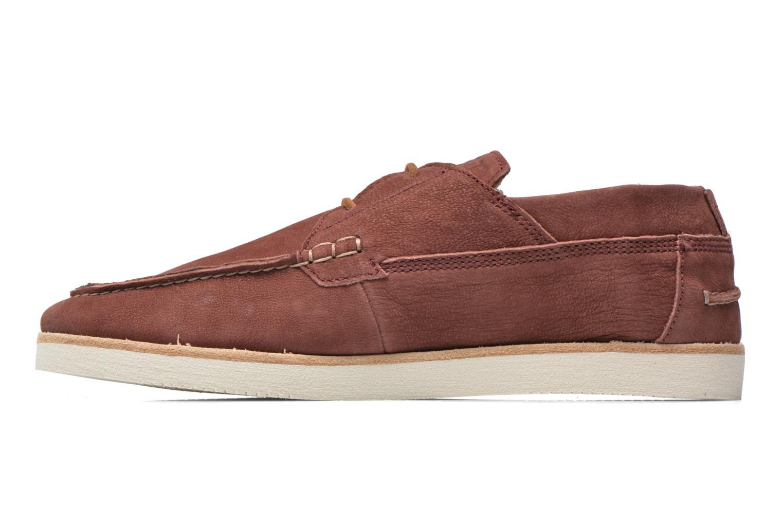 Chaussures à lacets Kost Errol Bordeaux vue face