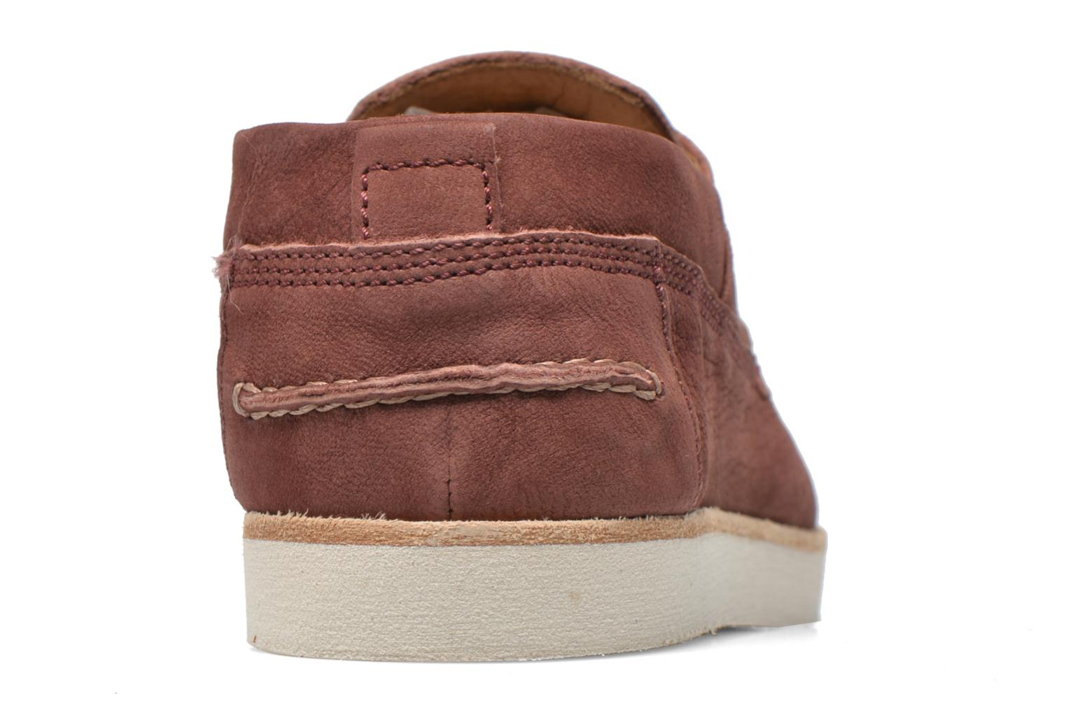 Lace-up shoes Kost Errol Burgundy view from the right