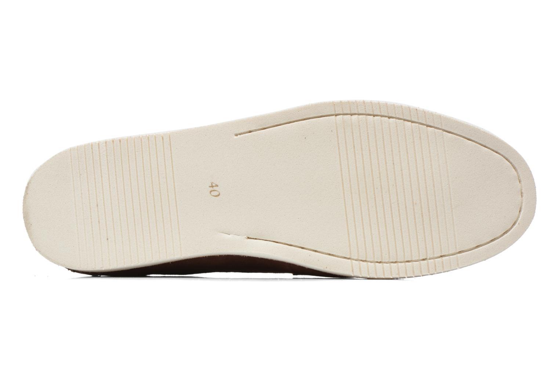 Chaussures à lacets Kost Errol Bordeaux vue haut