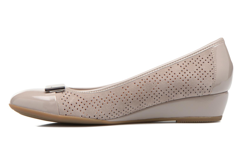 Zapatos de tacón Stonefly Maggie II 2 Beige vista de frente