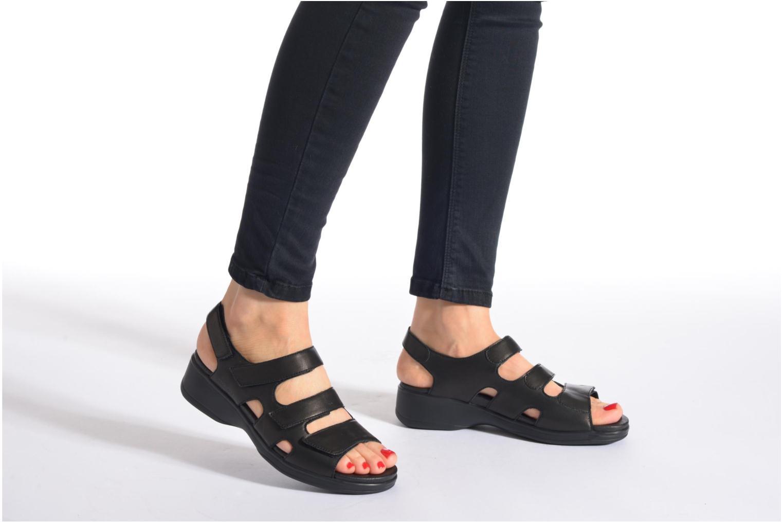 Sandales et nu-pieds Stonefly Aqua II 25 Noir vue bas / vue portée sac