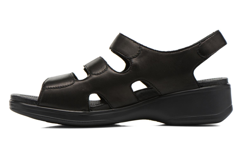 Sandales et nu-pieds Stonefly Aqua II 25 Noir vue face
