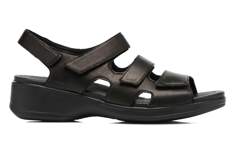 Sandales et nu-pieds Stonefly Aqua II 25 Noir vue derrière