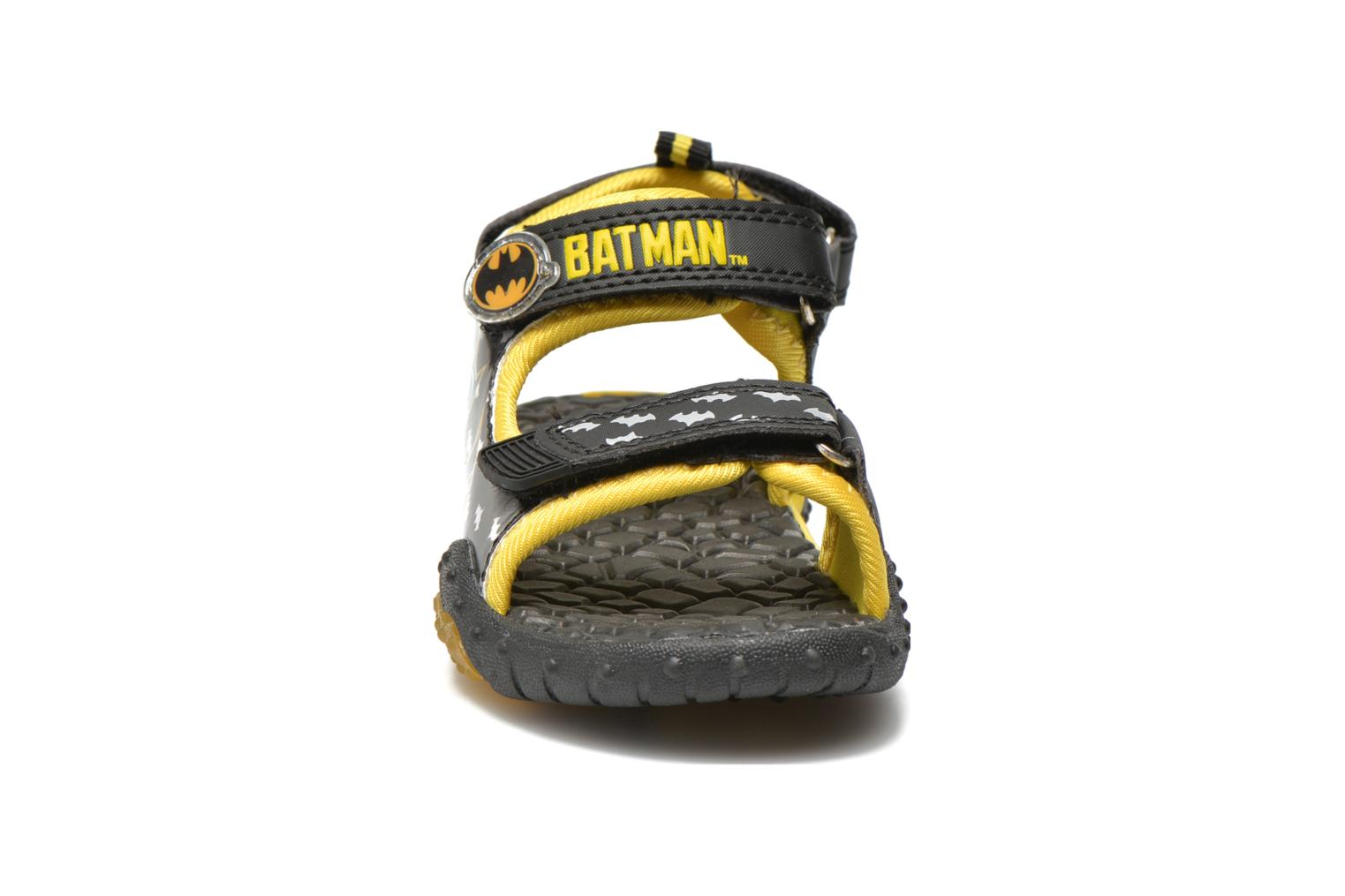 Sandals Batman Bat Vrongis Black model view