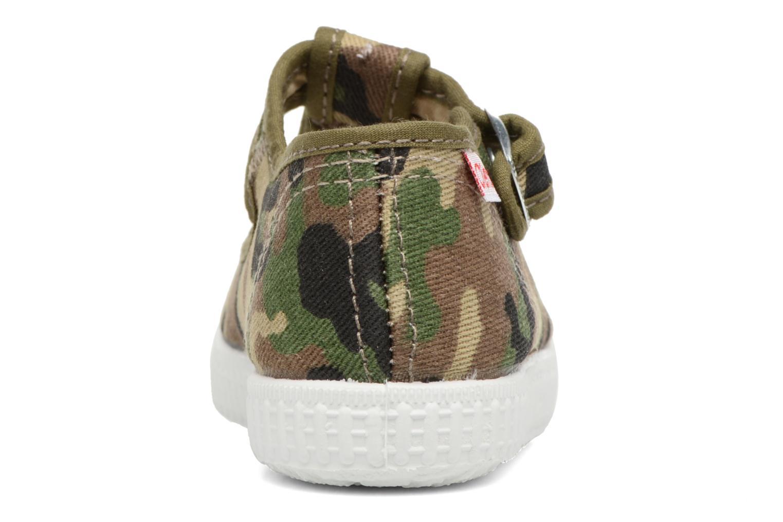 Sneakers Cienta Foliv Verde immagine destra