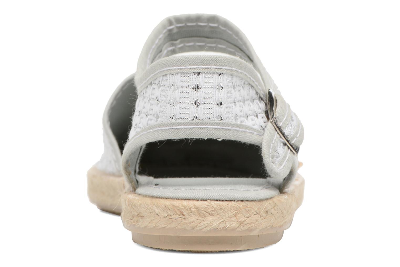 Sandales et nu-pieds Cienta Margot Argent vue droite