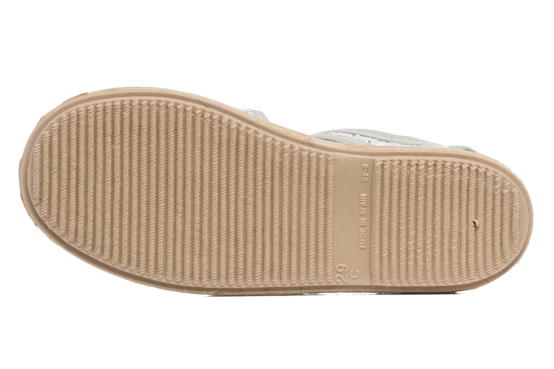 Sandales et nu-pieds Cienta Margot Argent vue haut