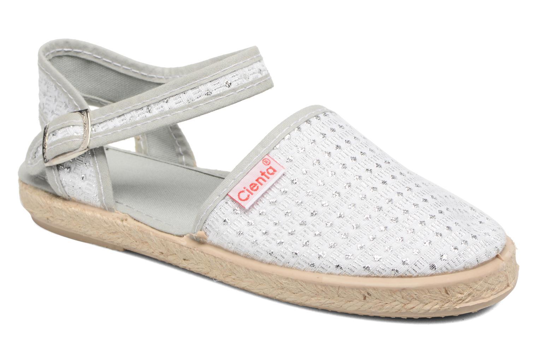 Sandales et nu-pieds Cienta Margot Argent vue détail/paire