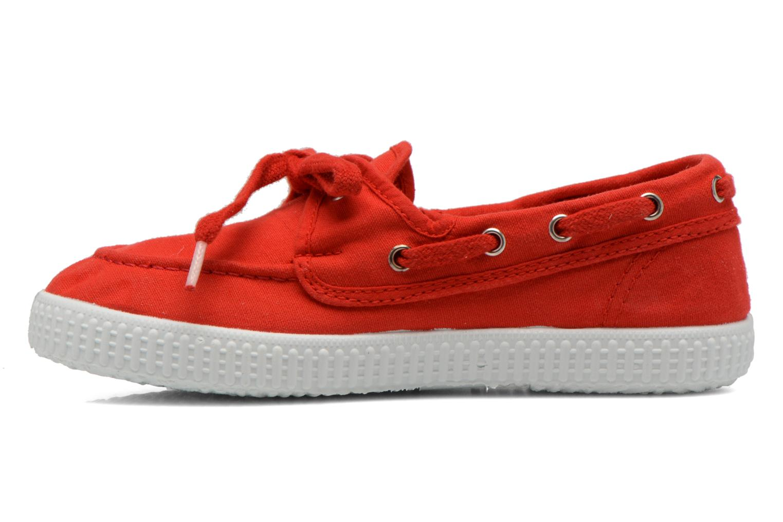 Lace-up shoes Cienta Martino Red front view