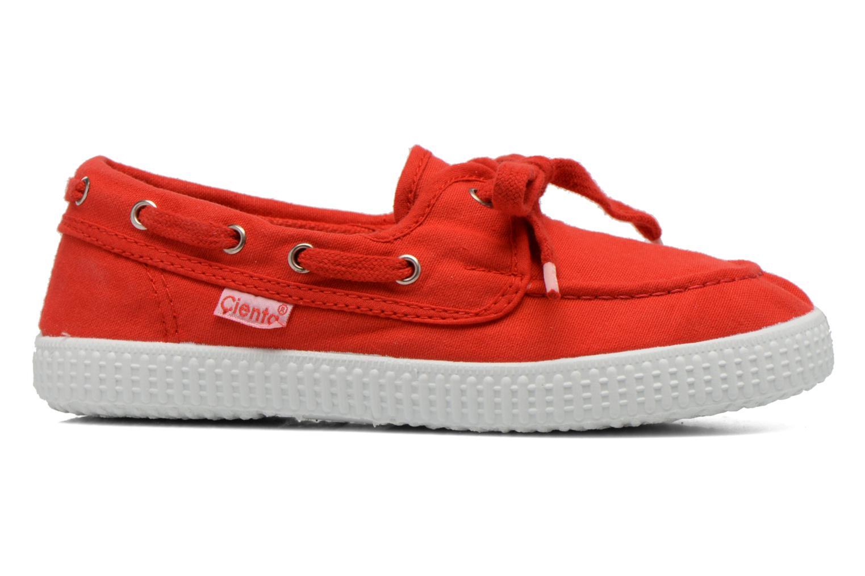 Chaussures à lacets Cienta Martino Rouge vue derrière