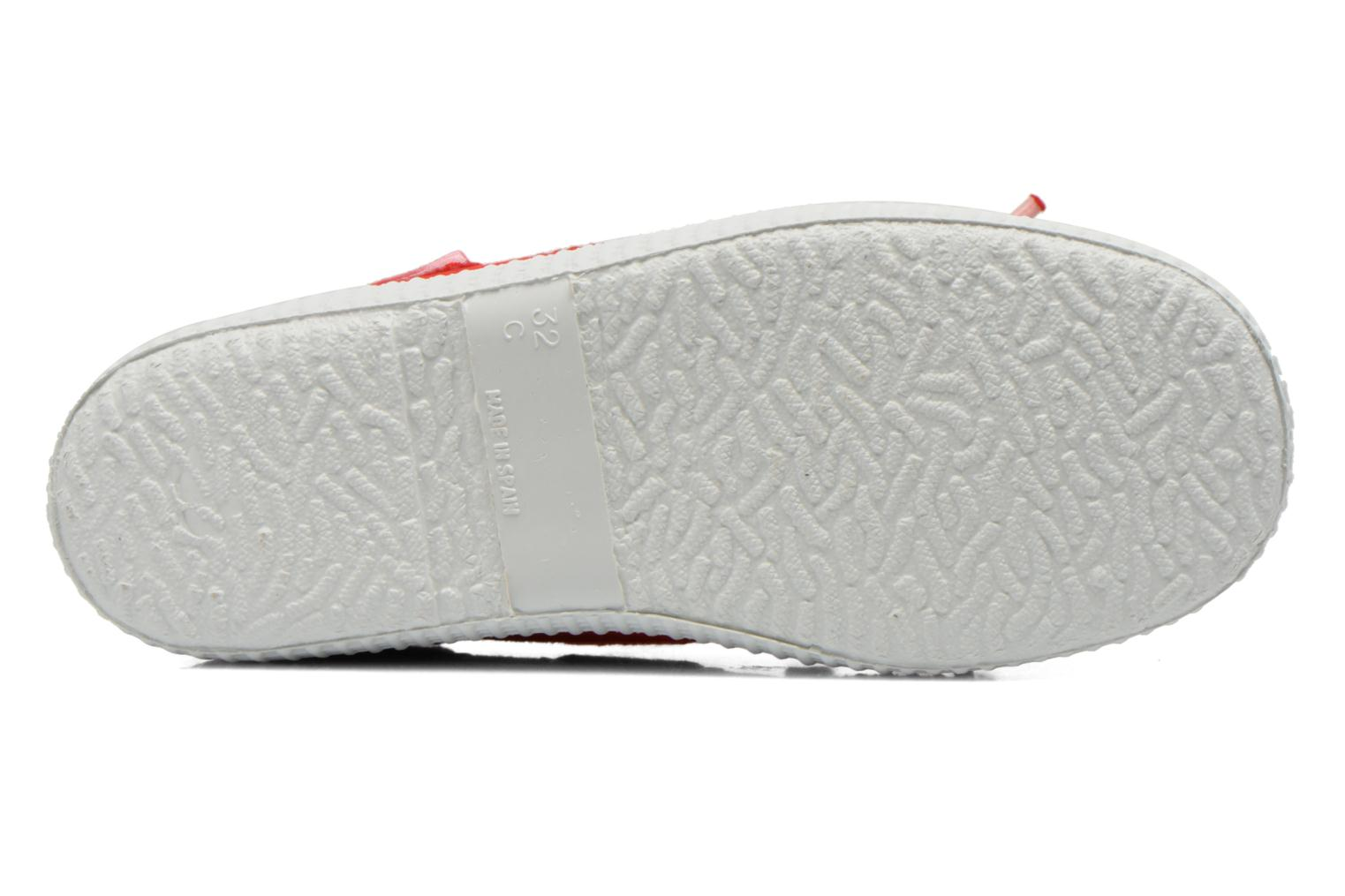 Lace-up shoes Cienta Martino Red view from above