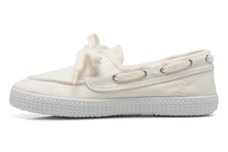 Chaussures à lacets Cienta Martino Blanc vue face