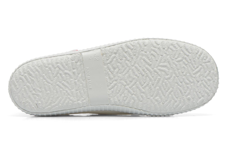 Chaussures à lacets Cienta Martino Blanc vue haut