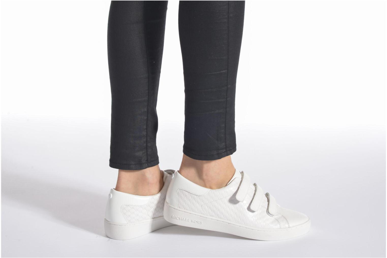 Baskets Michael Michael Kors Craig Sneaker Blanc vue bas / vue portée sac