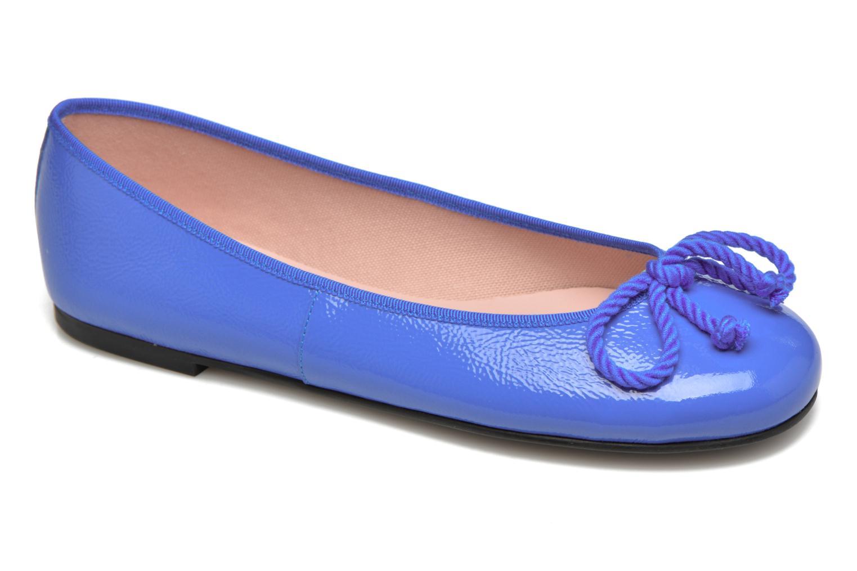 Ballerines Pretty Ballerinas Rosario thick lace Bleu vue détail/paire