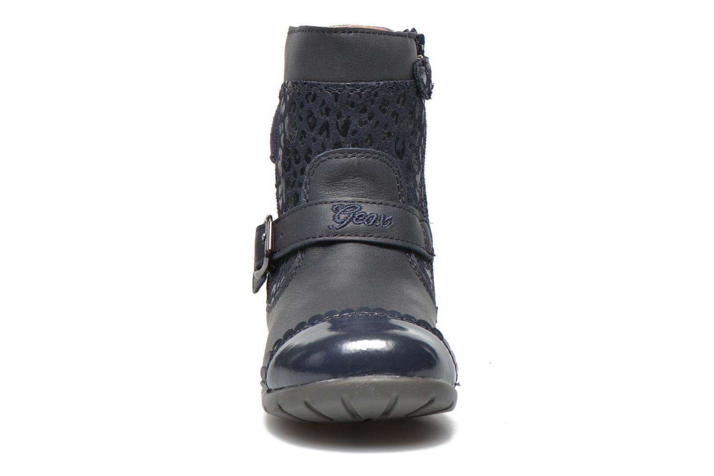 Stiefeletten & Boots Geox B Kaytan G.A 2 blau schuhe getragen