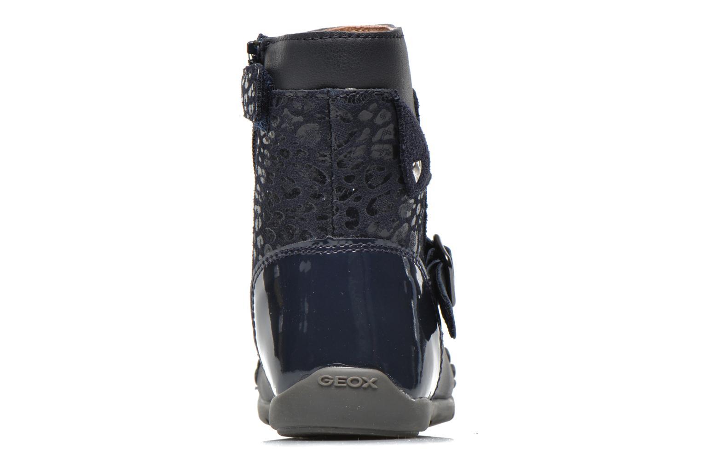 Stiefeletten & Boots Geox B Kaytan G.A 2 blau ansicht von rechts