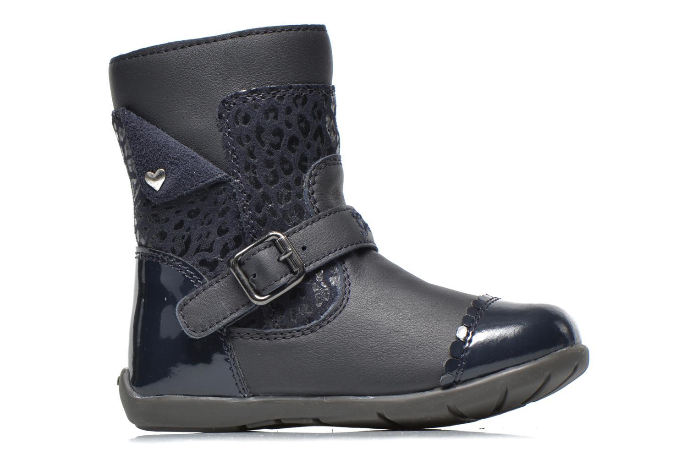 Bottines et boots Geox B Kaytan G.A 2 Bleu vue derrière