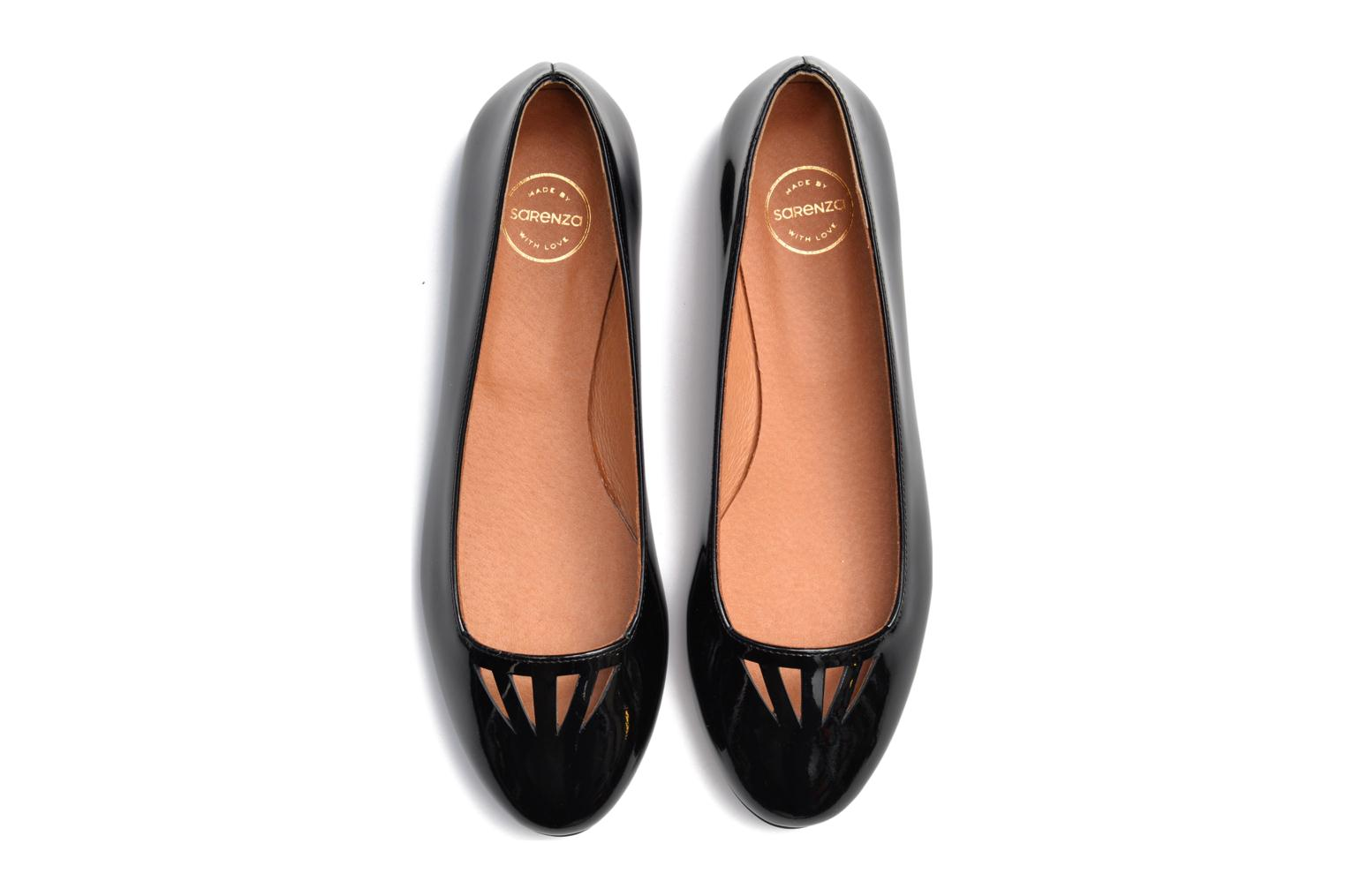 Ballet pumps Made by SARENZA Colette en terrasse #1 Black view from above