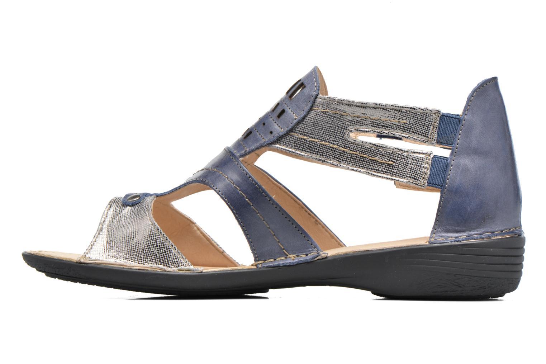 Sandales et nu-pieds Dorking Oda 6769 Bleu vue face