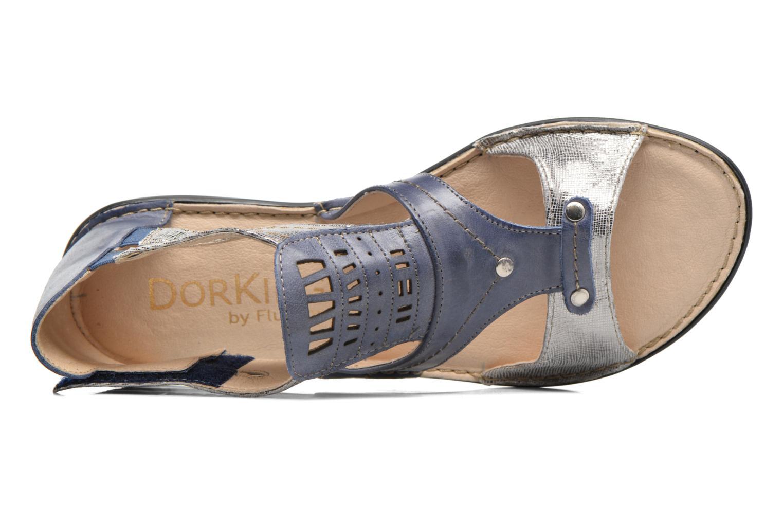 Sandales et nu-pieds Dorking Oda 6769 Bleu vue gauche