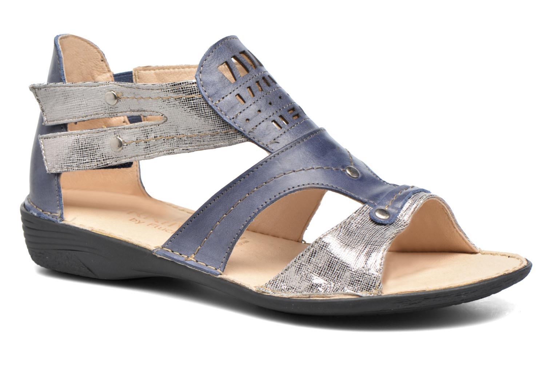 Sandales et nu-pieds Dorking Oda 6769 Bleu vue détail/paire