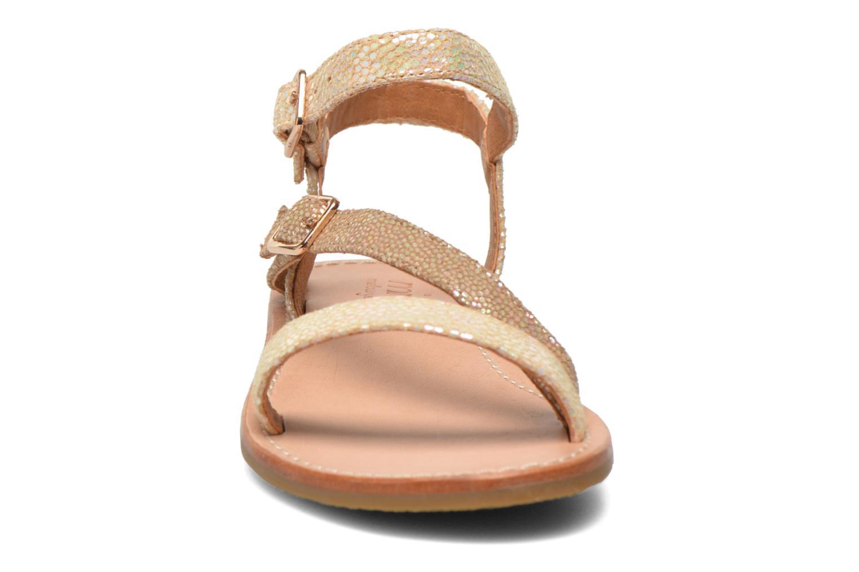 Sandales et nu-pieds Mellow Yellow Mnvaloma Jaune vue portées chaussures