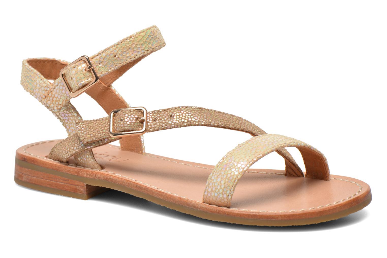 Sandales et nu-pieds Mellow Yellow Mnvaloma Jaune vue détail/paire