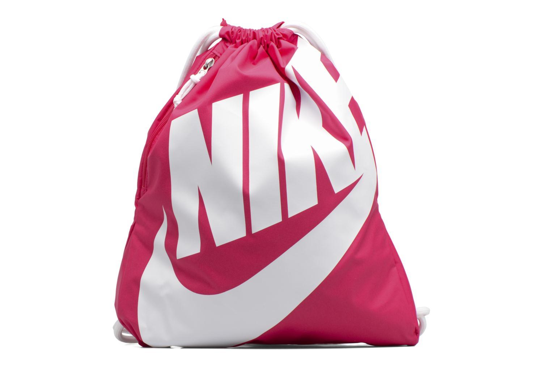 Sacs de sport Nike NIKE HERITAGE GYMSACK Rose vue détail/paire