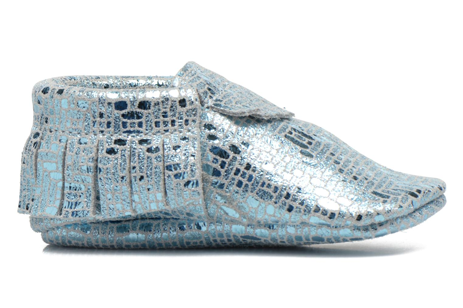 Slippers Hippie Ya Mocassins Catral Blue back view