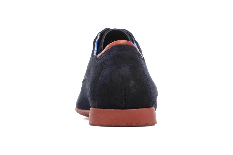 Veterschoenen Fluchos Ezzio 9353 Blauw rechts
