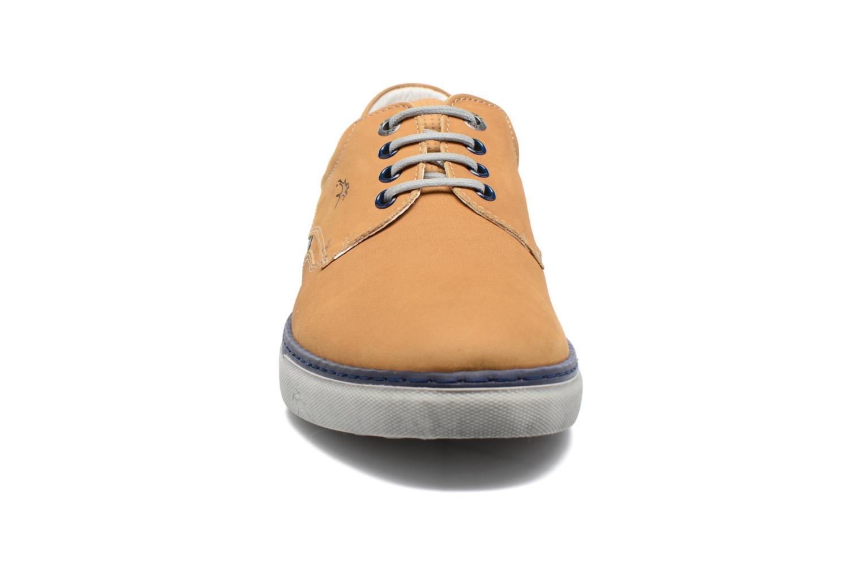 Chaussures à lacets Fluchos Quebec 9369 Jaune vue portées chaussures