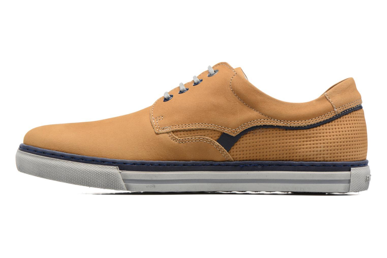 Chaussures à lacets Fluchos Quebec 9369 Jaune vue face