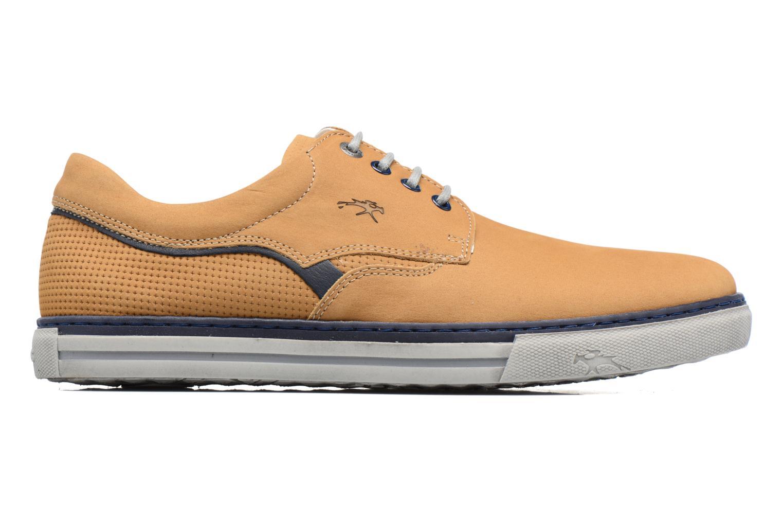 Chaussures à lacets Fluchos Quebec 9369 Jaune vue derrière