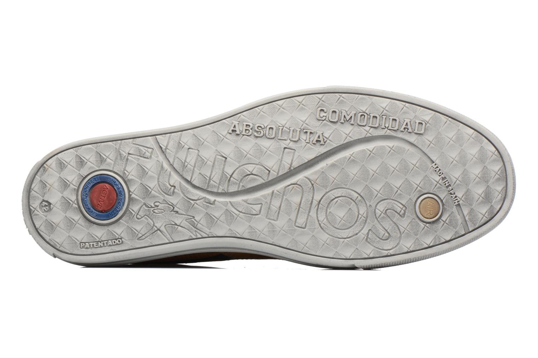 Chaussures à lacets Fluchos Quebec 9369 Jaune vue haut