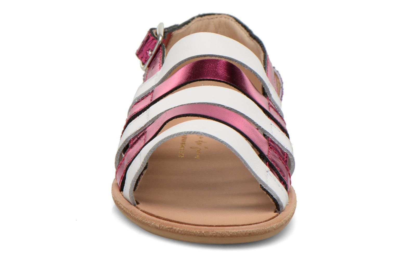 Sandales et nu-pieds Manuela de Juan Irina Rose vue portées chaussures