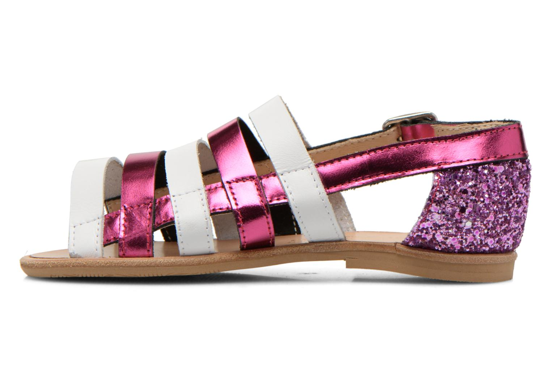 Sandals Manuela de Juan Irina Pink front view