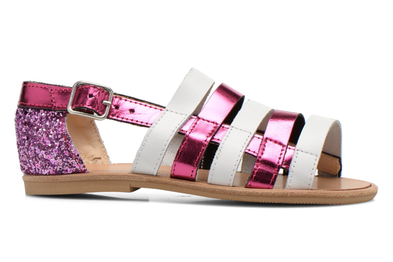 Sandals Manuela de Juan Irina Pink back view