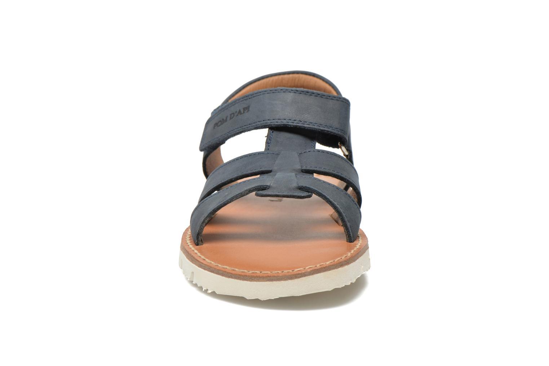 Sandales et nu-pieds Pom d Api Axess Boy Rodeo Bleu vue portées chaussures