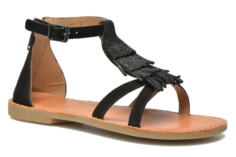 Sandali e scarpe aperte Shwik Lazar Fringe Suede Nero vedi dettaglio/paio