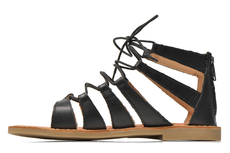 Sandales et nu-pieds Shwik Lazar Hi Lace Noir vue face