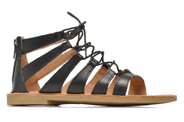 Sandales et nu-pieds Shwik Lazar Hi Lace Noir vue derrière